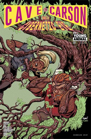 Cave Carson Has A Cybernetic Eye #10 Cover A Regular Michael Avon Oeming Cover