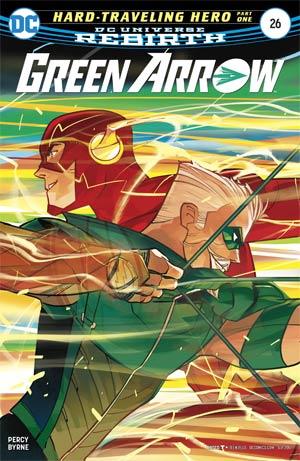 Green Arrow Vol 7 #26 Cover A Regular Otto Schmidt Cover
