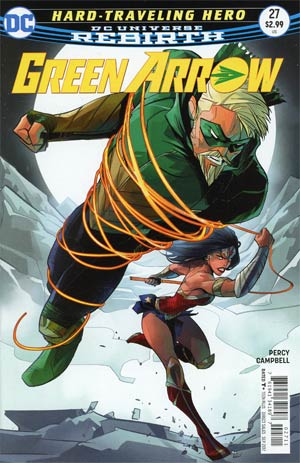 Green Arrow Vol 7 #27 Cover A Regular Otto Schmidt Cover