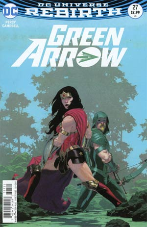 Green Arrow Vol 7 #27 Cover B Variant Esad Ribic Cover