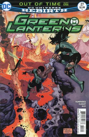 Green Lanterns #27 Cover A Regular Brad Walker & Drew Hennessey Cover