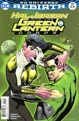 Hal Jordan And The Green Lantern Corps #25 Cover B Variant Kevin Nowlan Cover