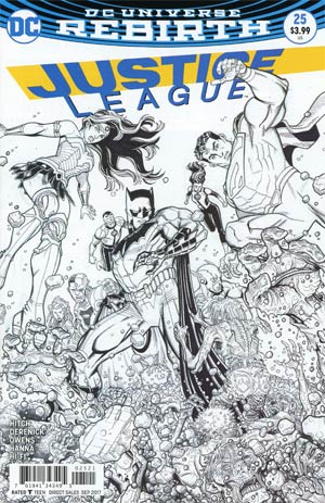 Justice League Vol 3 #25 Cover B Variant Nick Bradshaw Cover