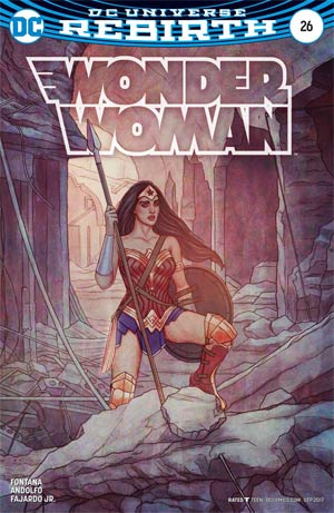 Wonder Woman Vol 5 #26 Cover B Variant Jenny Frison Cover
