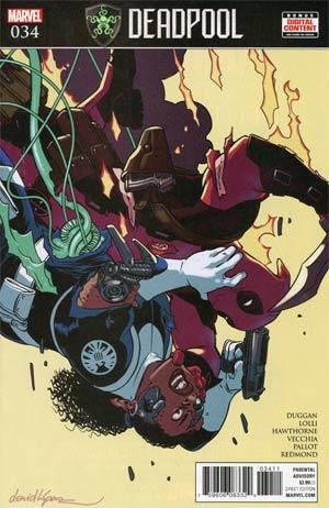 Deadpool Vol 5 #34 Cover A Regular David Lopez Cover (Secret Empire Tie-In)