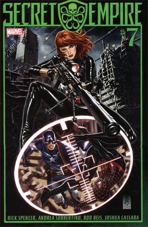 Secret Empire #7 Cover A 1st Ptg Regular Mark Brooks Cover