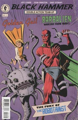 Black Hammer #11 Cover B Variant Jeff Lemire Cover