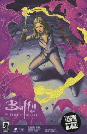 Buffy The Vampire Slayer Season 11 #9 Cover A Regular Steve Morris Cover