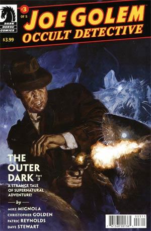 Joe Golem Occult Detective Outer Dark #3