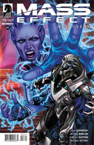 Mass Effect Discovery #3 Cover A Regular Gabriel Guzman Cover
