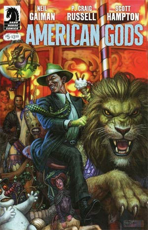 American Gods Shadows #5 Cover A Regular Glenn Fabry Cover