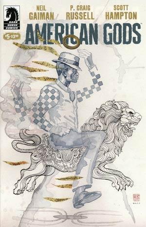 American Gods Shadows #5 Cover B Variant David Mack Cover