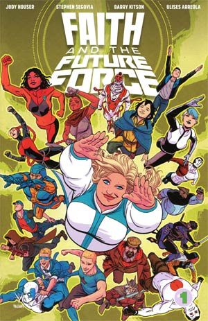 Faith And The Future Force #1 Cover B Variant Kano Cover