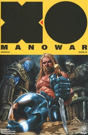 X-O Manowar Vol 4 #5 Cover A Regular Lewis Larosa Cover