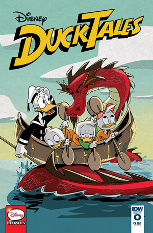 Ducktales Vol 4 #0 Cover A Regular Marco Ghiglione Cover