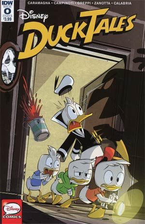 Ducktales Vol 4 #0 Cover B Variant Marco Ghiglione Cover