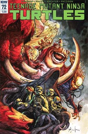 Teenage Mutant Ninja Turtles Vol 5 #72 Cover A Regular Dave Wachter Cover