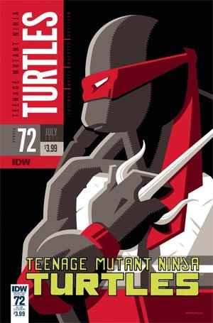 Teenage Mutant Ninja Turtles Vol 5 #72 Cover B Variant Tom Whalen Cover