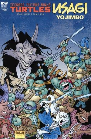 Teenage Mutant Ninja Turtles Usagi Yojimbo Cover A Regular Stan Sakai Cover