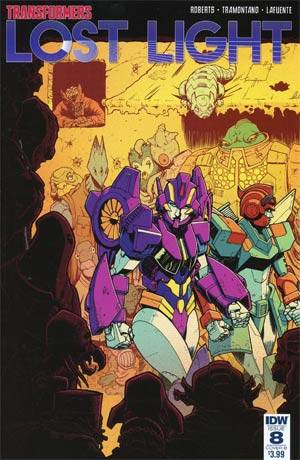 Transformers Lost Light #8 Cover B Variant Nick Roche Cover