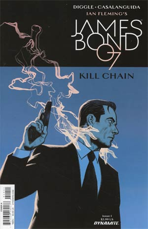 James Bond Kill Chain #1 Cover A Regular Greg Smallwood Cover