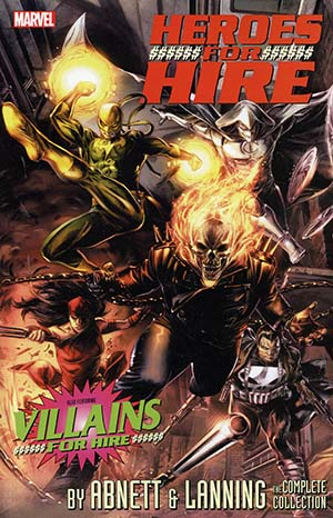 Heroes For Hire By Dan Abnett & Andy Lanning Complete Collection TP