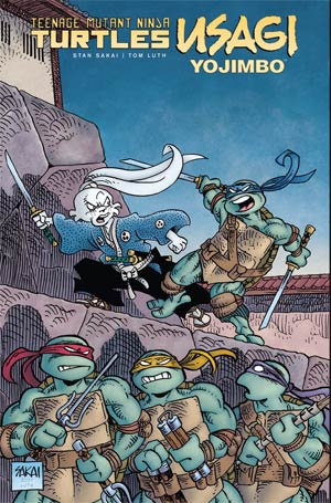 Teenage Mutant Ninja Turtles Usagi Yojimbo HC