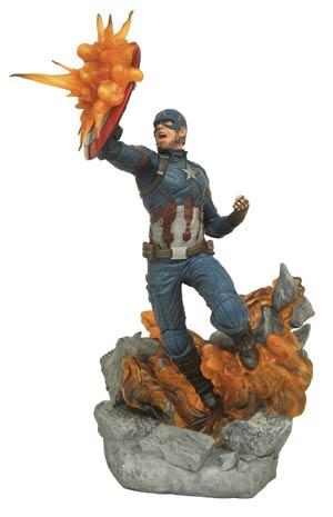 Marvel Milestones Captain America Civil War Movie Captain America Statue