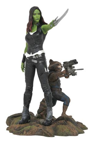 Marvel Gallery Guardians Of The Galaxy Vol 2 Gamora & Rocket Racoon PVC Figure