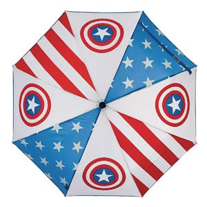 Marvel Heroes Umbrella - Captain America Panel