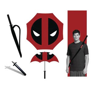 Marvel Heroes Umbrella - Deadpool Katana