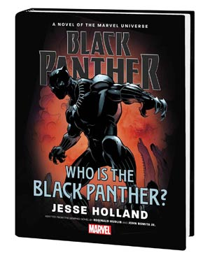 Black Panther Who Is The Black Panther Prose Novel HC
