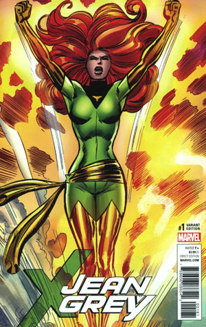 Jean Grey #1 Cover G Incentive Dave Cockrum Remastered Variant Cover (Resurrxion Tie-In)