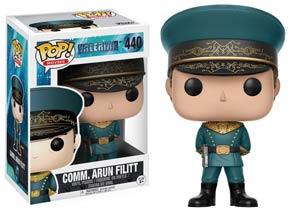 POP Movies 440 Valerian Commander Arun Filitt Vinyl Figure