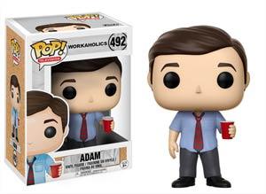POP Television 492 Workaholics Adam Vinyl Figure