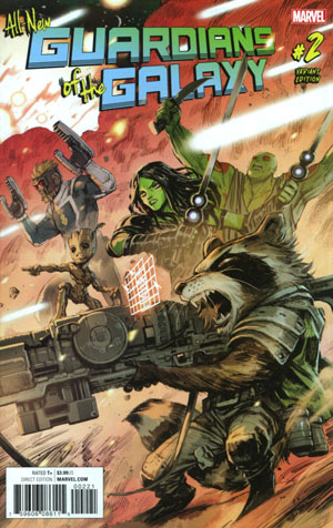 All-New Guardians Of The Galaxy #2 Cover B Incentive Niko Henrichon Variant Cover