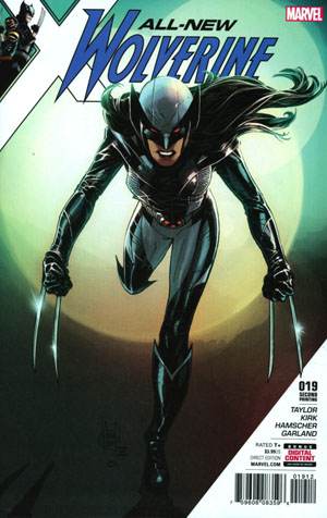 All-New Wolverine #19 Cover F 2nd Ptg Adam Kubert Variant Cover (Resurrxion Tie-In)
