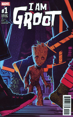 I Am Groot #1 Cover E Incentive Greg Smallwood Variant Cover