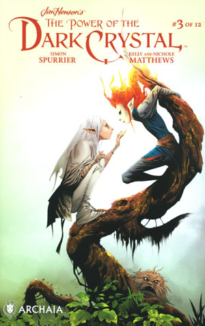 Jim Hensons Power Of The Dark Crystal #3 Cover C Variant Jae Lee Color Cover