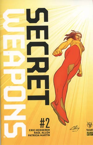 Secret Weapons Vol 2 #2 Cover C Variant Clayton Henry Cover