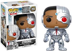 POP Heroes 209 DC Justice League Movie Cyborg Vinyl Figure