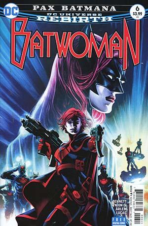Batwoman Vol 2 #6 Cover A Regular Eddy Barrows Cover