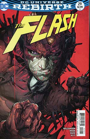 Flash Vol 5 #29 Cover B Variant Neil Googe Cover
