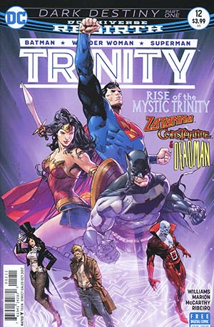 Trinity Vol 2 #12 Cover A Regular Clay Mann Cover