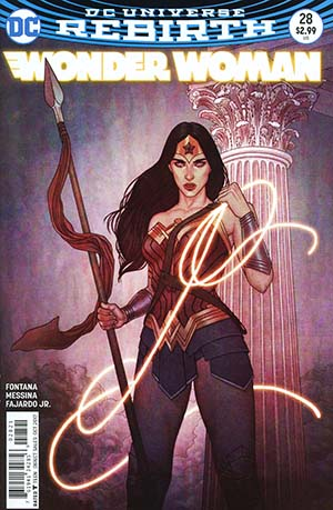 Wonder Woman Vol 5 #28 Cover B Variant Jenny Frison Cover