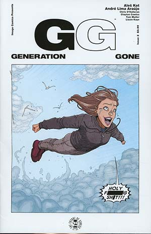 Generation Gone #2 Cover A Regular Andre Araujo Cover