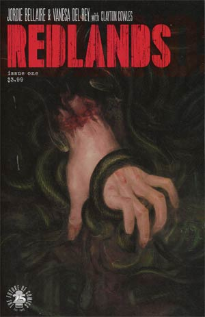 Redlands #1 Cover A 1st Ptg Regular Vanesa Del Rey Cover