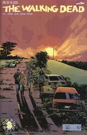 Walking Dead #170 Cover A Regular Charlie Adlard & Dave Stewart Cover