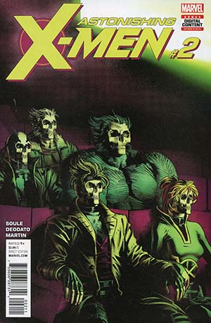 Astonishing X-Men Vol 4 #2 Cover A Regular Mike Deodato Jr Cover