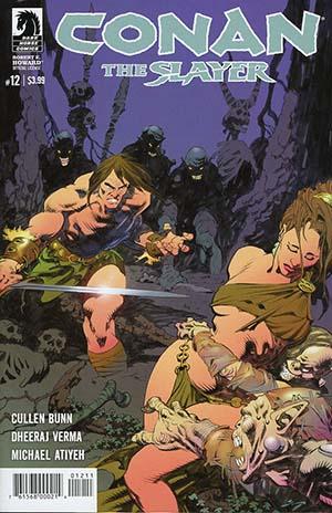 Conan The Slayer #12